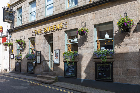 Queens Hotel St Ives Sunday Lunch