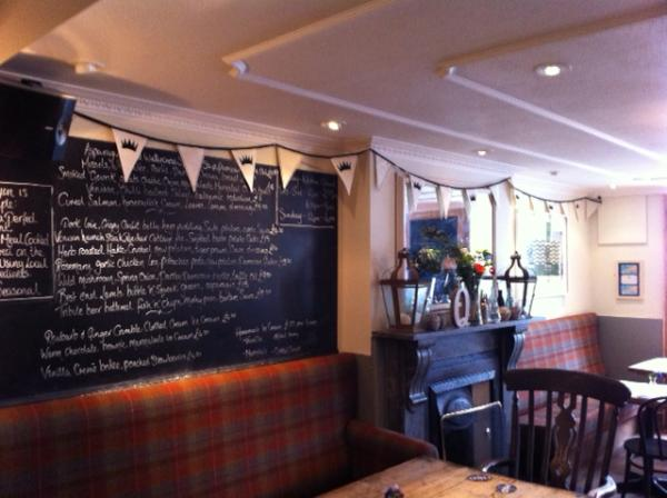Queens Hotel St Ives Food